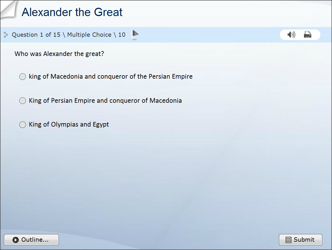Alexander the Great Trivia Quiz Questions Online Free